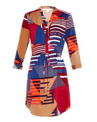 Diane von Furstenberg - Multicolor Freya Dress - Lyst
