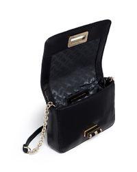 Diane von Furstenberg - Black '440 Gallery Bellini' Quilted Leather Stud Crossbody Bag - Lyst