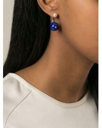 Delfina Delettrez | White 'piercing' Earring | Lyst