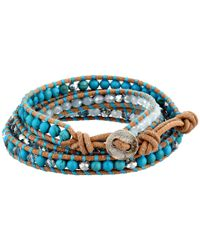 Chan Luu | Blue Go-to Tassel Bracelet | Lyst