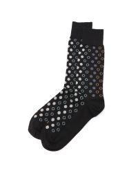 Paul Smith | Black Polka Spot Socks for Men | Lyst