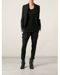 Ann Demeulemeester - Black Long Tank Top - Lyst