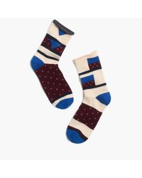 Madewell | Natural Mismatch Trouser Socks | Lyst