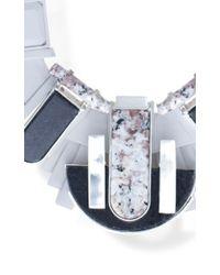 EK Thongprasert - Gray Serpentine Marble Necklace - Lyst