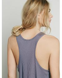 Free People | Gray Intimately Womens Be Free Boy Tank | Lyst