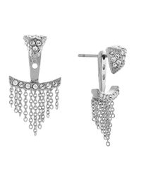 Vince Camuto | Metallic Petite Bebe Fringed Earring Jackets | Lyst