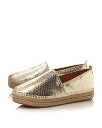 Steve Madden - Metallic Pacificc Sm Slip On Espadrille Shoes - Lyst