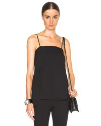 Helmut Lang | Black Spaght Top | Lyst