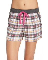 DKNY | White Sleep Shorts | Lyst