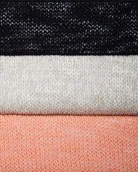 Eileen Fisher - Orange Melange Linen-blend Cardigan - Lyst