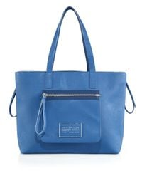 Marc By Marc Jacobs - Blue Zipper Tote - Lyst