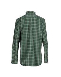 GANT - Green Shirt for Men - Lyst