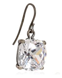 Bottega Veneta - Natural Cubic Zirconia Earrings - Lyst