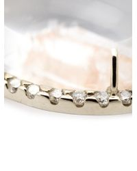 Kimberly Mcdonald | White Quartz And Diamond Necklace | Lyst