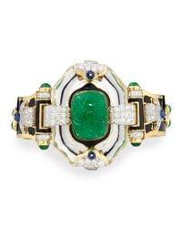 David Webb | Green Emerald | Lyst