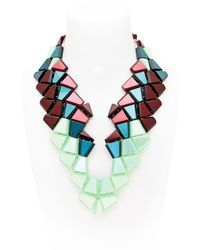 Silvia Rossi | Green Biguana Necklace | Lyst