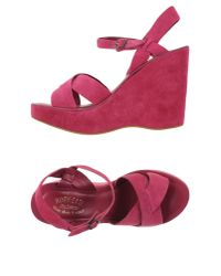 Kork-Ease - Purple Sandals - Lyst