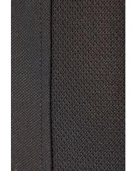 Alexander Wang - Black Cotton-blend Piqué Top - Lyst