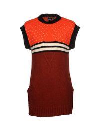 Just Cavalli - Orange Jumper for Men - Lyst