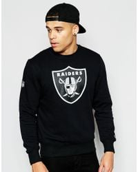 KTZ | Black Oakland Raiders Sweatshirt for Men | Lyst