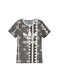 Adidas - Gray Tee Shirt (W) - Lyst