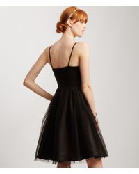 Aéropostale | Black Ruched Detail Tulle Tutu Dress | Lyst