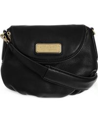 Marc Jacobs | Black Mini New Q Natasha Leather Cross-body Bag | Lyst