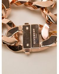 Givenchy | Metallic Chain Link Bracelet | Lyst