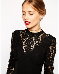 ASOS | Metallic Cup Chain Choker Necklace | Lyst