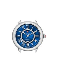 Michele - Serein 16 Blue Diamond Dial Watch Head, 34mm - Lyst