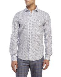 Moods Of Norway - White Arne Vik Floral Sport Shirt for Men - Lyst