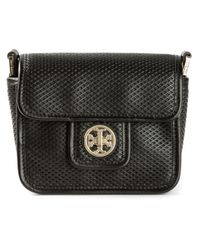 Tory Burch - Black Mini Harper Cross Body Bag - Lyst