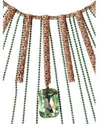 Halaby - Metallic Samurai Capsule Necklace - Lyst