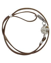 Gilbert Gilbert | Natural Vanité Camel Bracelet for Men | Lyst