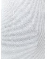 Rick Owens - White Sheer Midi Dress - Lyst
