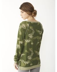 Alternative Apparel - Green Locker Room Printed Pullover - Lyst