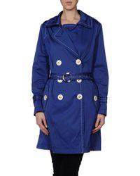 Fay - Blue Full-length Jacket - Lyst