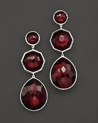 Ippolita | Red Sterling Silver Rock Candy Crazy 8'S Earrings In Scarlet | Lyst