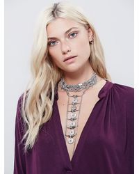 Free People - Purple Gallery Dress - Lyst