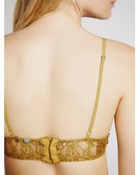 Free People - Metallic Honeysuckle Bondage U/w - Lyst