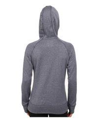 Adidas   Blue Ultimate Fleece Pullover Hoodie   Lyst