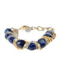 Gemma Redux - Blue Bracelet - Lyst