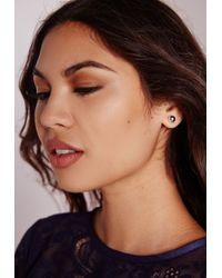 Missguided | Metallic Stud And Hoop Earring Pack | Lyst