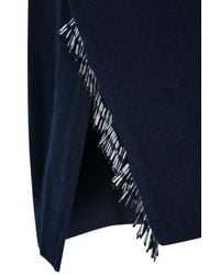 Dorothee Schumacher | Blue Fringe Fanatic Pullover O-neck 1/1 | Lyst
