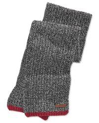 Polo Ralph Lauren   Black Ragg Wool Scarf for Men   Lyst