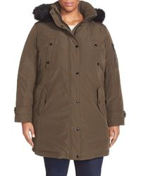 MICHAEL Michael Kors | Brown Expedition Insulated Parka | Lyst