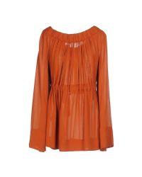 Plein Sud - Brown T-shirt - Lyst