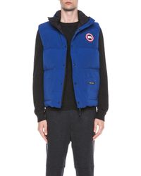 Canada Goose - Blue Freestyle Polyblend Vest - Lyst
