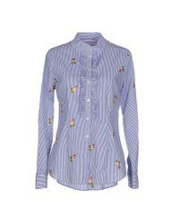 Ottod'Ame - Blue Shirt - Lyst