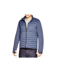Theory - Blue Puffer Jacket - 100% Bloomingdale's Exclusive for Men - Lyst